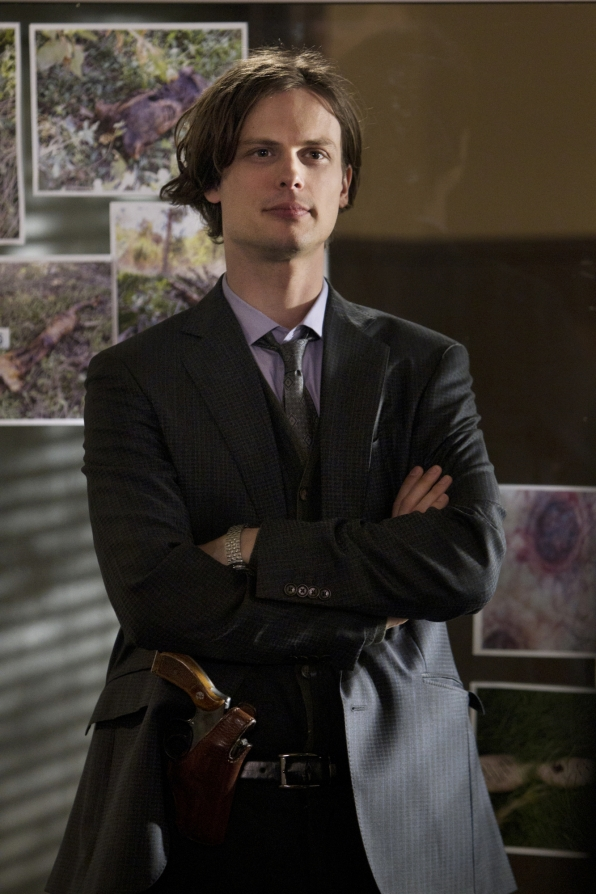 Spencer Reid New Year's Resolution