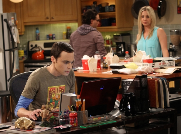 "Focused Sheldon in ""The Closure Alternative"", Episode 21 of Season 6"