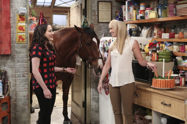 "Birthday Horse in ""And The Extra Work"" Episode 22 of Season 2"