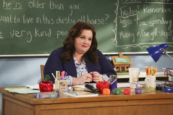 "Teacher Molly in ""Mike Can't Read"" Episode 20 of Season 3"