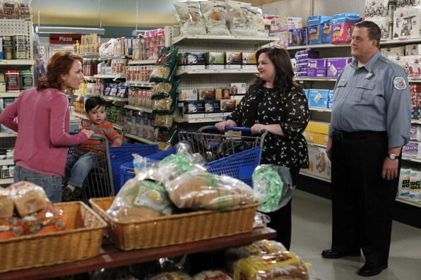 "At the store in ""School Recital"" Episode 22 of Season 3"