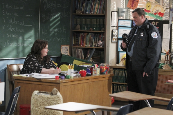 "Mike visits Molly at school in ""School Recital"" Episode 22 of Season 3"