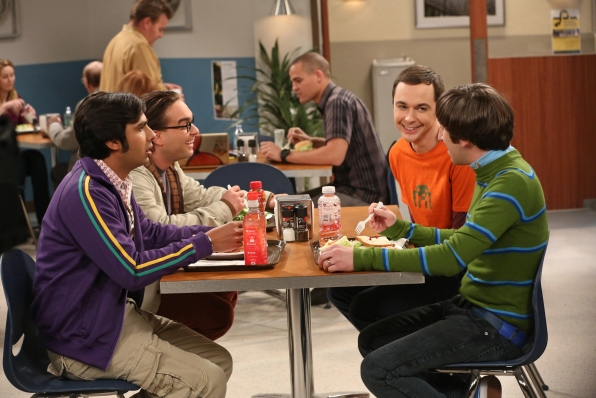"""Lunchtime in """"The Proton Resurgence"""" Episode 22 of Season 6"""