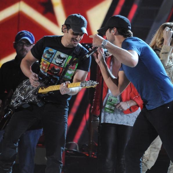 Brad and Luke