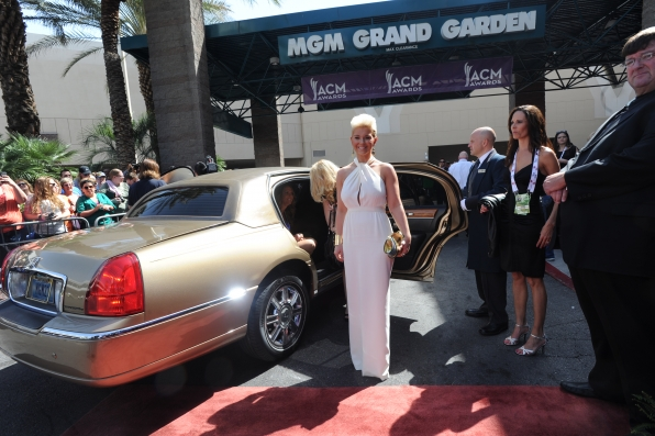 Jaida Dreyer on the Red Carpet - 48th ACM Awards