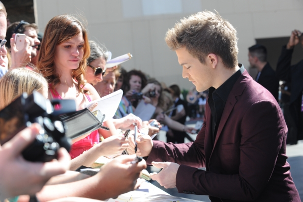 Hunter Hayes on the Red Carpet - 48th ACM Awards