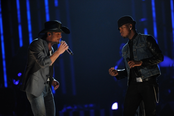Ne-Yo and Tim McGraw
