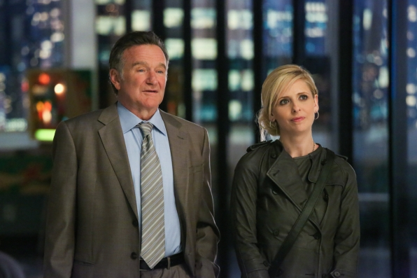 Father/Daughter Duo- The Crazy Ones- Thursdays 9/8c