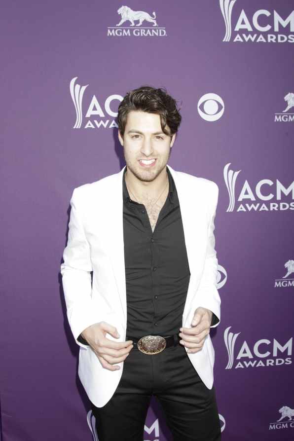 Austin Webb on the Red Carpet - 48th ACM Awards