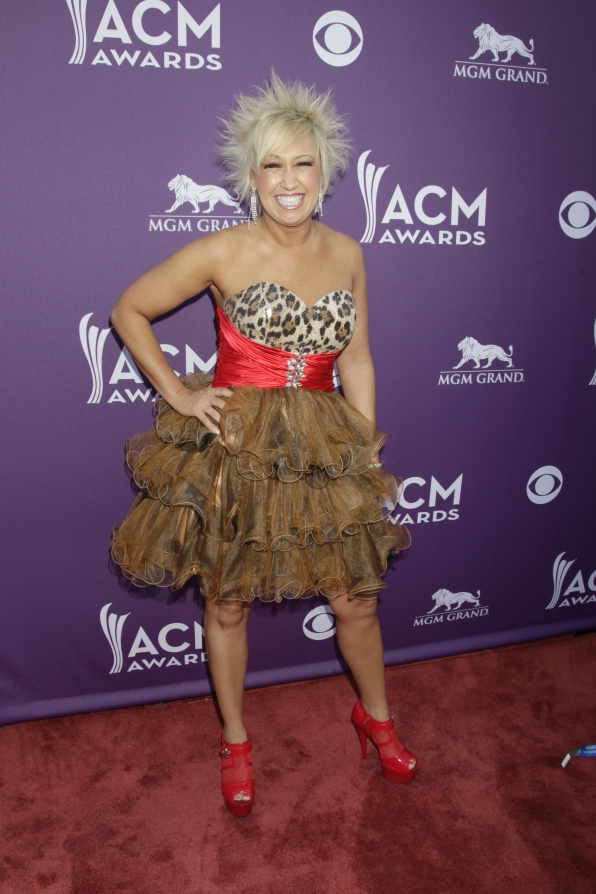 Tobi Lee on the Red Carpet - 48th ACM Awards