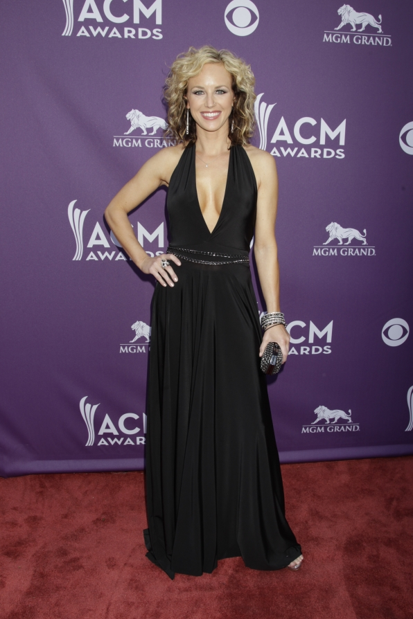 Kristen Kelly on the Red Carpet - 48th ACM Awards