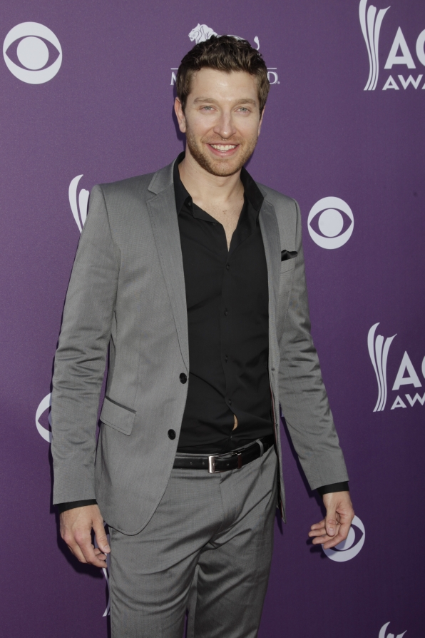 Brett Eldredge on the Red Carpet - 48th ACM Awards