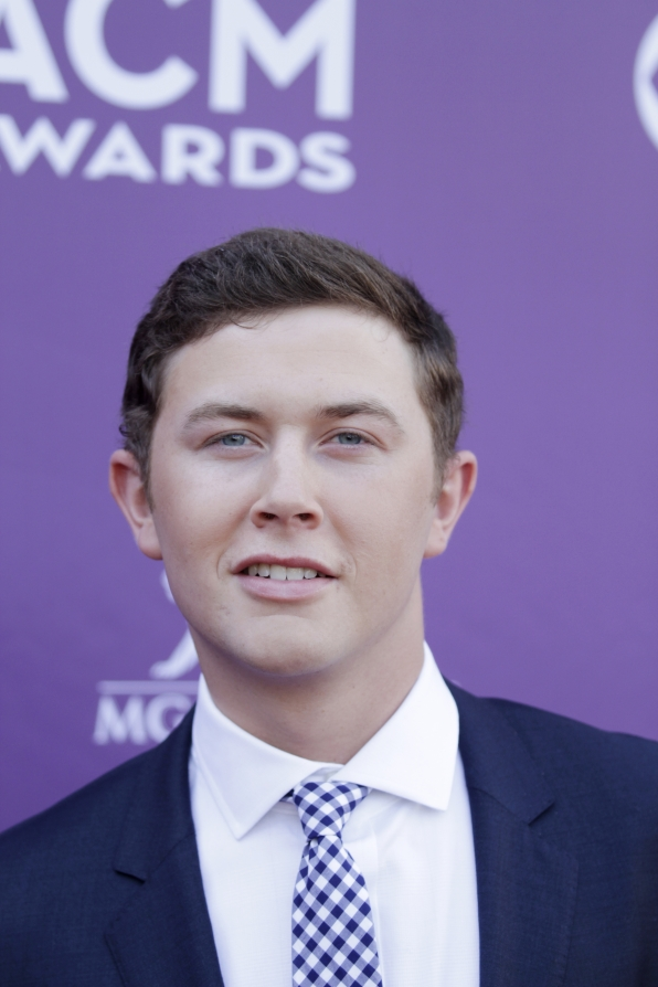 Scotty McCreery on the Red Carpet - 48th ACM Awards - CBS.com