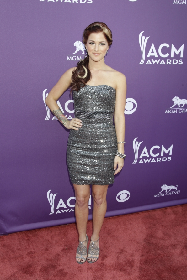 Cassadee Pope on the Red Carpet - 48th ACM Awards