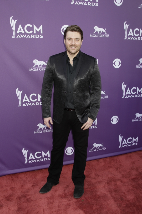 Chris Young on the Red Carpet - 48th ACM Awards