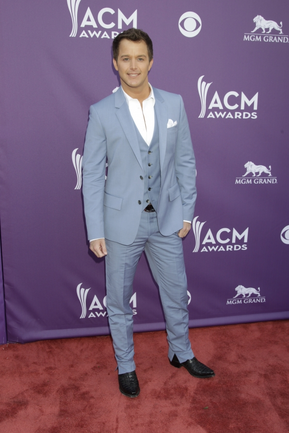 Easton Corbin on the Red Carpet - 48th ACM Awards