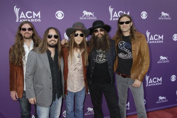 Blackberry Smoke on the Red Carpet - 48th ACM Awards