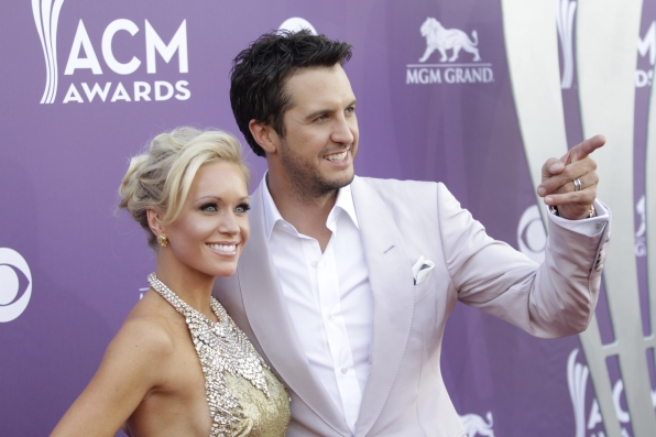 Luke Bryan on the Red Carpet - 48th ACM Awards