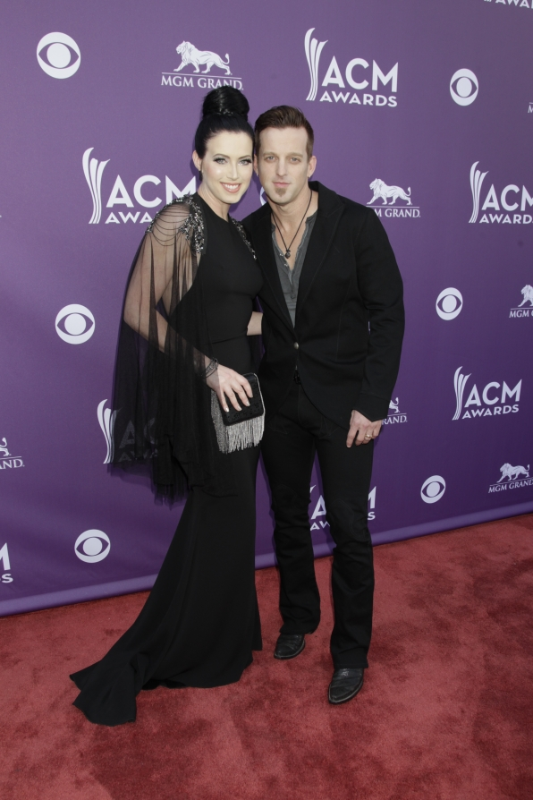 Thompson Squared on the Red Carpet - 48th ACM Awards