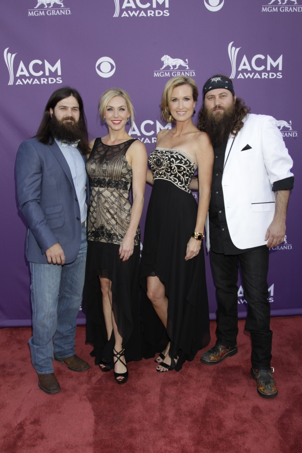 Duck Dynasty on the Red Carpet - 48th ACM Awards
