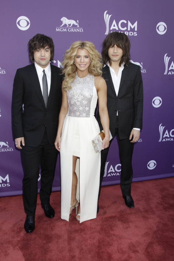 The Band Perry on the Red Carpet - 48th ACM Awards