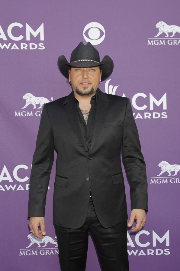 Jason Aldean on the Red Carpet - 48th ACM Awards