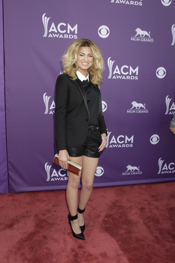 Tori Kelly on the Red Carpet - 48th ACM Awards