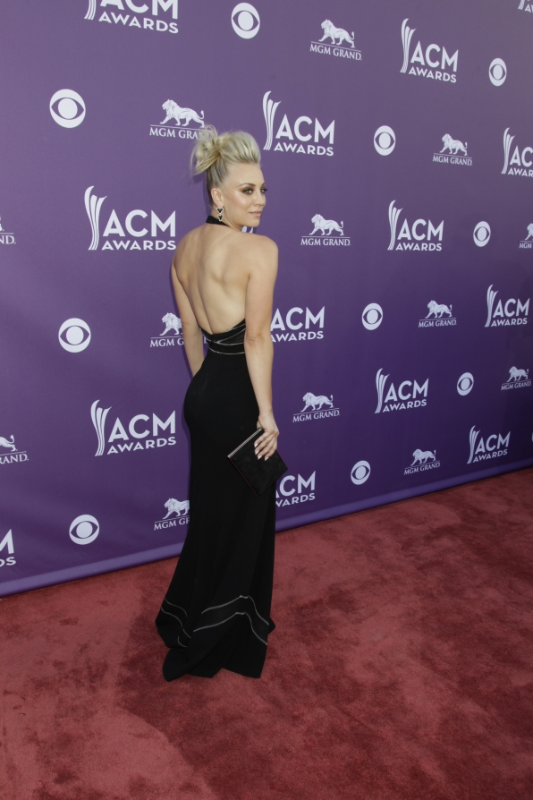 Kaley Cuoco on the Red Carpet - 48th ACM Awards