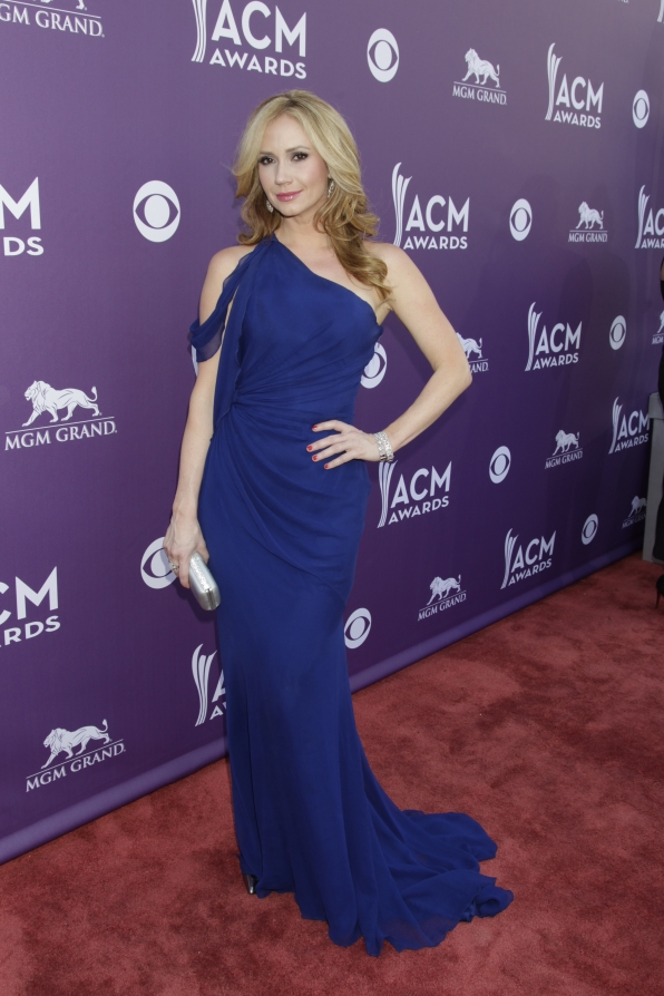 Ashley Jones on the Red Carpet - 48th ACM Awards