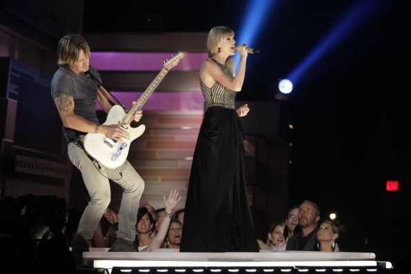 Keith Urban & Taylor Swift