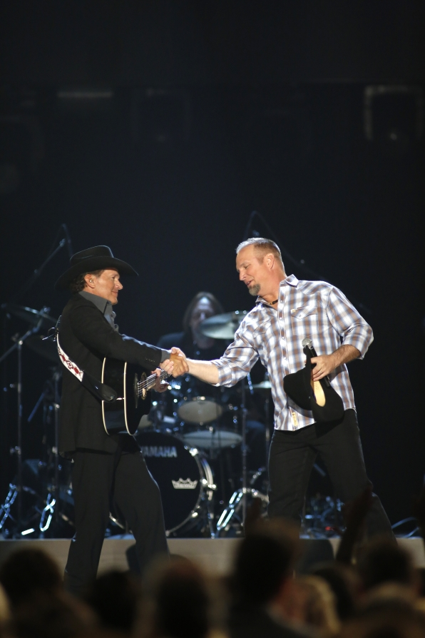 Garth Brooks & George Strait