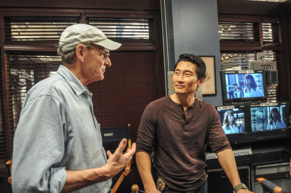 James Taylor and Daniel Dae Kim