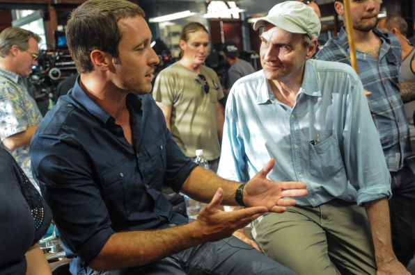 Alex O'Loughlin and James Taylor Share Stories