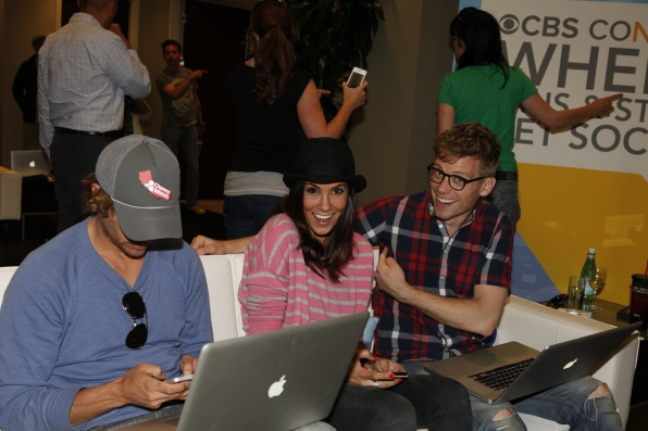NCIS: Los Angeles' Eric Christian Olsen, Daniela Ruah, and Barrett Foa