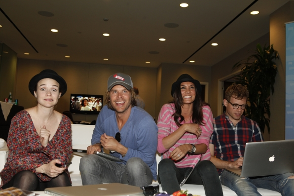 NCIS: Los Angeles' Renee Felice Smith, Eric Christian Olsen, Daniela Ruah, and Barrett Foa