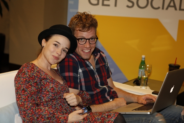 NCIS: Los Angeles' Renee Felice Smith and Barrett Foa