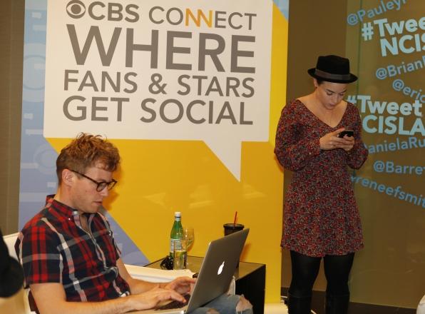 NCIS: Los Angeles' Renee Felice Smith and Barrett Foa