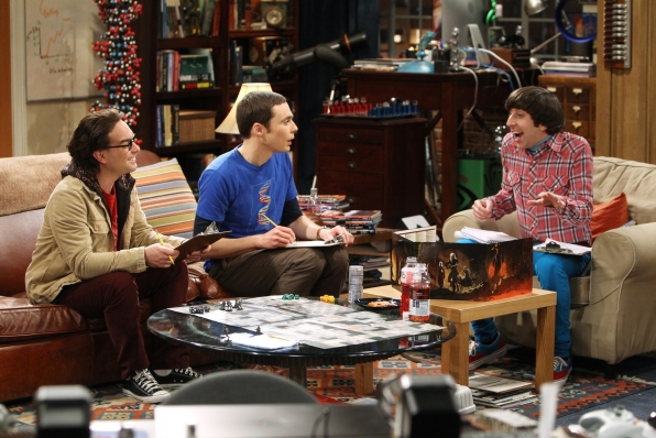 """Dungeons & Dragons on """"The Love Spell Potential"""" in Episode 23 of Season 6"""