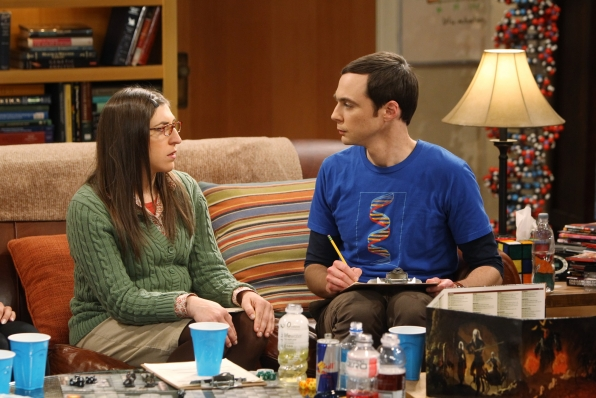 "Amy & Sheldon on ""The Love Spell Potential"" in Episode 23 of Season 6"