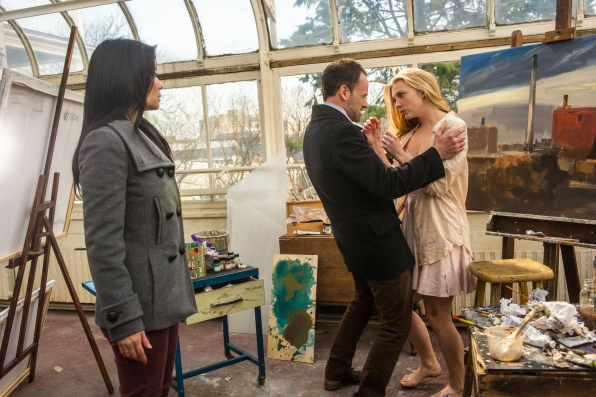 Joan, Sherlock and Irene