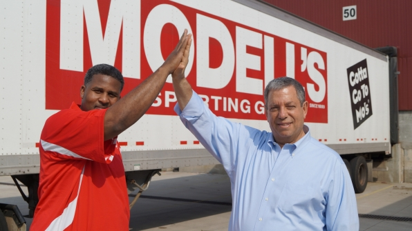 """Mitchell Modell in the """"Undercover Boss- Epic Bosses"""" Season Finale"""