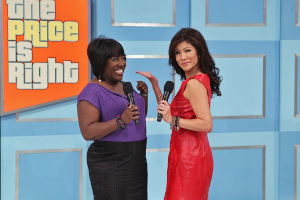 Julie Chen and Sheryl Underwood