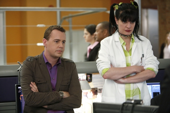 "Abby and McGee in ""Damned If You Do"" NCIS Season Finale"