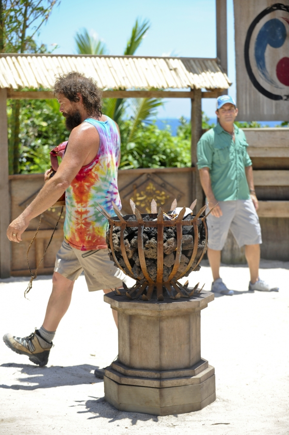 Rupert leaves Redemption Island