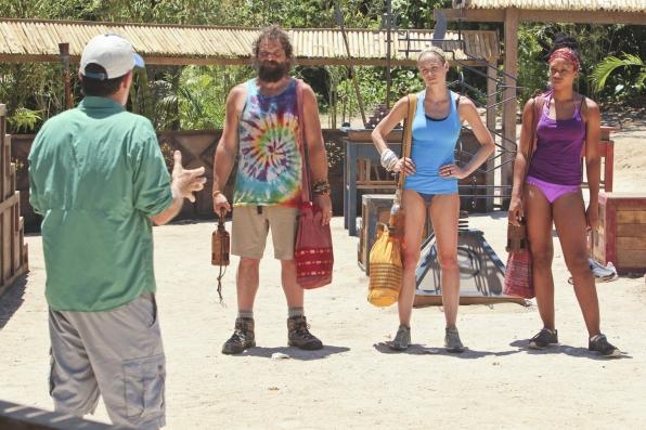 Jeff Talks to Rupert, Candice and Marissa