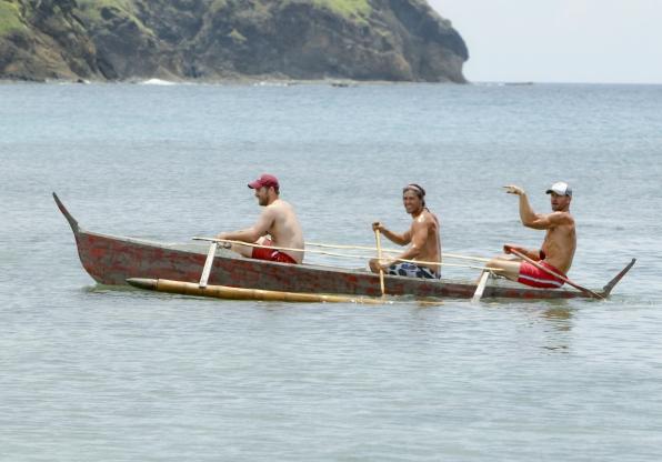 Caleb, Hayden and Brad
