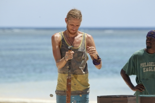 Tyson Apostol - Survivor: Blood vs. Water