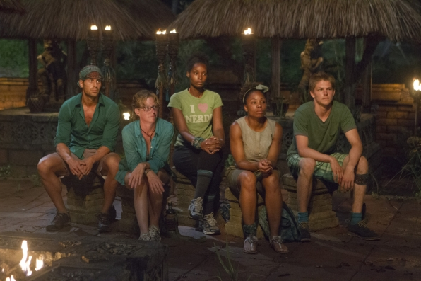 Tribal Council in the Season 28 premiere