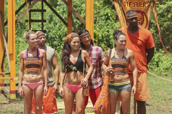 The Brawn tribe in Season 28 Episode 3