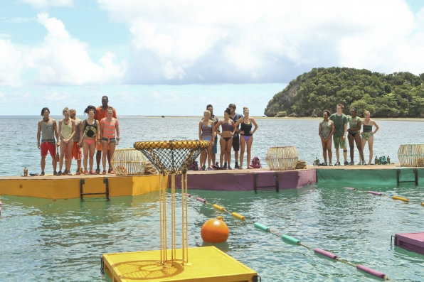 Getting ready for the challenge in Season 28 Episode 3